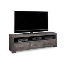 Steel City HDTV Unit w/ Hutch with 44'' TV Opening