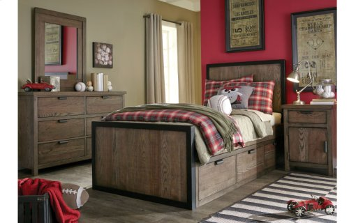 Fulton County Panel Bed, Twin 3/3