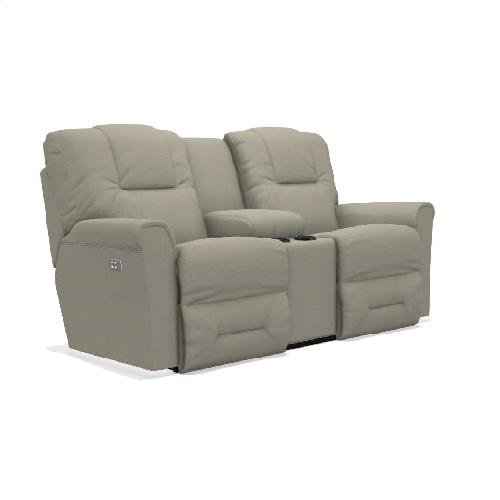 Easton Power Reclining Loveseat w/ Headrest & Console