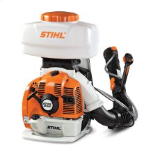 Stihl Powerful Backpack Sprayer/Duster that easily converts from liquid to granular applications.