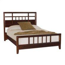 Tribecca Slat Queen Bed Complete