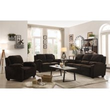 Northend Casual Chocolate Sofa