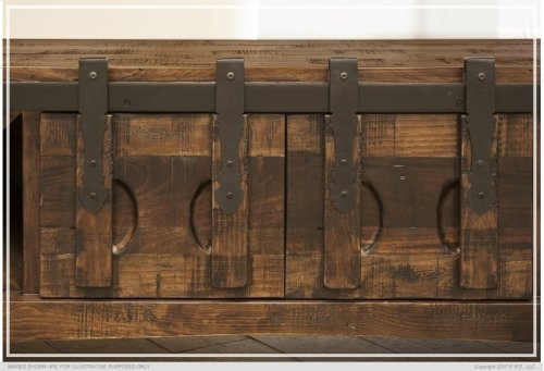 Kitchen Island w/ 3 Drawers, 2 Doors & 8 Bottle Holder Shelves