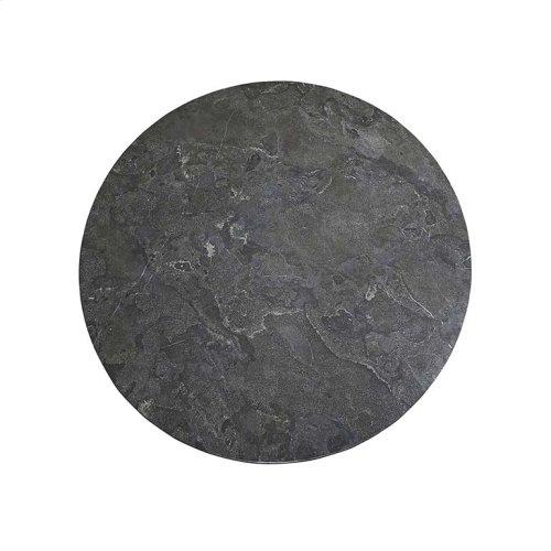 "Custom Dining 54"" Stone Table w/Atlas Tall"