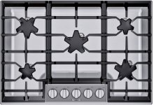 30-Inch Masterpiece® Pedestal Star® Burner Gas Cooktop