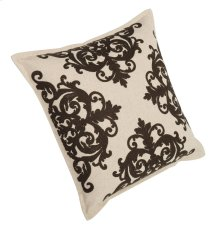 "Luxe Pillows Embroidery with Flange (22"" x 22"")"