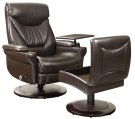 Cinna 15-8028 Pedestal Chair and Ottom an Product Image