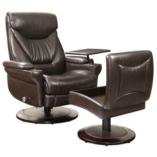 Cinna 15-8028 Pedestal Chair and Ottom an