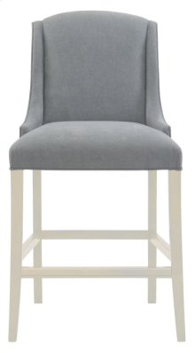 Slope Bar Stool in Chalk