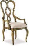 Auberose Upholstered Splatback Arm Chair