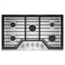 Whirlpool® 36-inch Gas Cooktop with Griddle - Stainless Steel Product Image