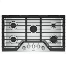Whirlpool® 36-inch Gas Cooktop with Griddle - Stainless Steel