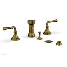 3RING Four Hole Bidet Set D4205 - French Brass