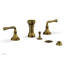 3RING Four Hole Bidet Set D4205 - French Brass