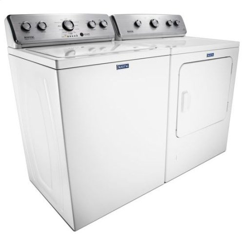 """Maytag® Large Capacity Top Load Washer with the Deep Fill Option """" 3.8 cu. ft. - White"""