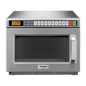 PANASONIC2100 Watt Compact Commercial Microwave Oven with 60 Programmable Memory Pads NE-21521