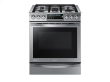 5.8 cu. ft. Slide-in Gas Chef Collection Range with True Convection