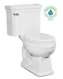 White RICHMOND Two-Piece Toilet 1.28gpf, Elongated