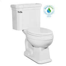 White RICHMOND Two-Piece Toilet 1.28gpf, Elongated
