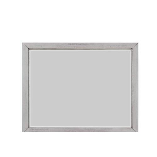 Emerald Home B527-24 Warwick II Mirror, Light Gray