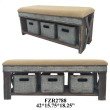 "42X15.75X18.25"" STOOL W/ 3 BOXES, 1 PC PK, 8.67'"