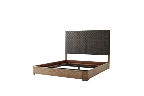 Seb King Bed (california King), California King, Echo Oak