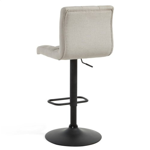 Dex Gas Lift Stool in Beige, 2pk