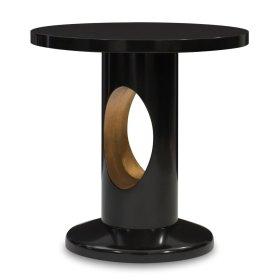 Crosscut End Table