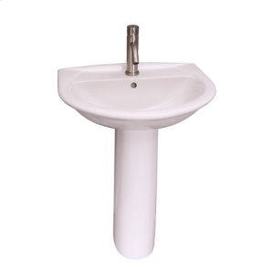 Karla 505 Pedestal Lavatory - White Product Image