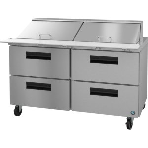 HoshizakiRefrigerator, Two Section Mega Top Prep Table with Drawers