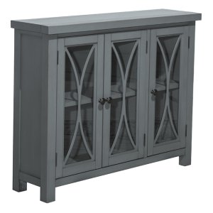 Hillsdale FurnitureBayside 3 Door Cabinet - Robin's Egg Blue