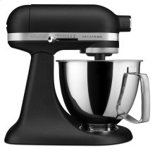 Artisan® Mini 3.5 Quart Tilt-Head Stand Mixer - Cast Iron Black