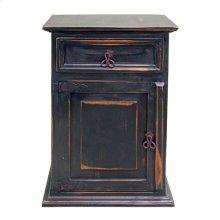 Stone Brown 1 Drawer 1 Door Ns