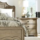 Corinne - Three Drawer Nightstand - Sun-drenched Acacia Finish Product Image