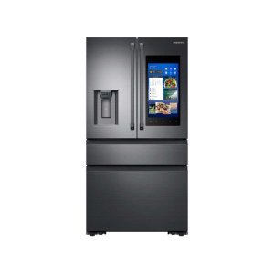 Samsung22 cu. ft. Capacity Counter Depth 4-Door French Door Refrigerator with Family Hub (2017)
