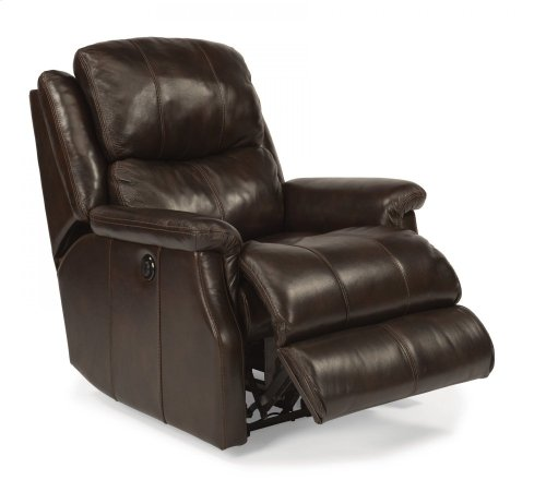 Mateo Leather Power Recliner
