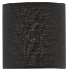 Black Linen Shade - 4 x 4 x 4