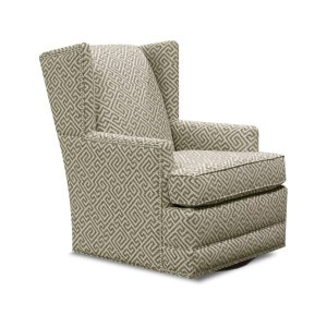 England Furniture Reynolds Swivel Chair With Nails 470-69n