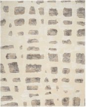 CHRISTOPHER GUY WOOL COLLECTION CGW12 MARBLE WHITE/MISTED MORNING RECTANGLE RUG 8' x 10'