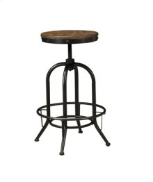 Tall Swivel Stool - Pinnadel Grayish Brown Collection 30""