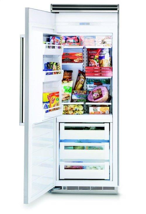 "30"" All Freezer, Right Hinge/Left Handle"