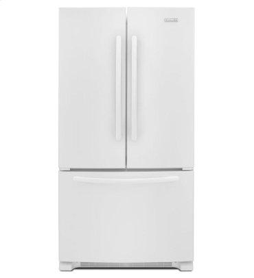 25 Cu. Ft. Standard-Depth French Door Refrigerator, Architect® Series II - White