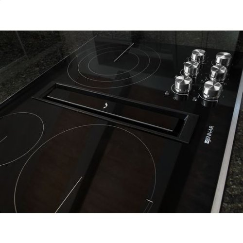 "JennAir® Euro-Style 36"" JX3 Electric Downdraft Cooktop - Stainless Steel"