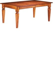 """French Regency Table w/Four 12"""" Leaves"""