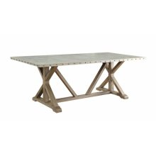 Webber Rustic Driftwood Dining Table