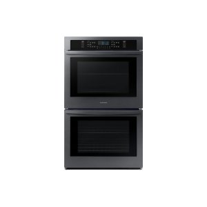 "Samsung Appliances30"" Double Wall Oven in Black Stainless Steel"
