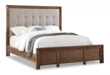 Hampton Queen Upholstered Bed