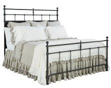 Kettle Trellis Metal Queen Bed