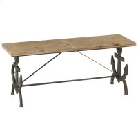 Anchor Backless Bench. Product Image
