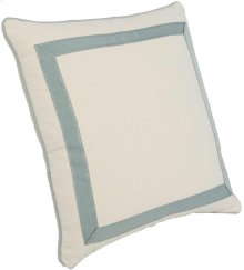 """Custom Decorative Pillows Mitered Tape Picture Frame (23"""" x 23"""")"""